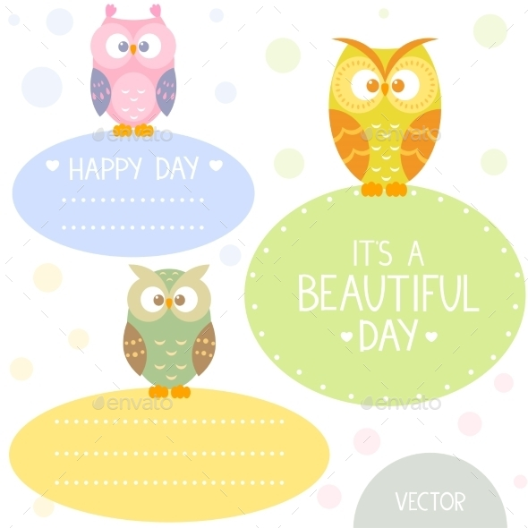 GraphicRiver Owl Frame 9870442