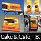 Cake and Cafe Advertising Bundle - GraphicRiver Item for Sale