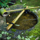 Water dipper on a stone basin at Koto-in Temple in Kyoto, Japan - PhotoDune Item for Sale