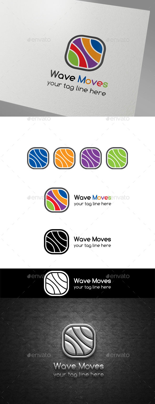 GraphicRiver Wave Moves logo 9870561