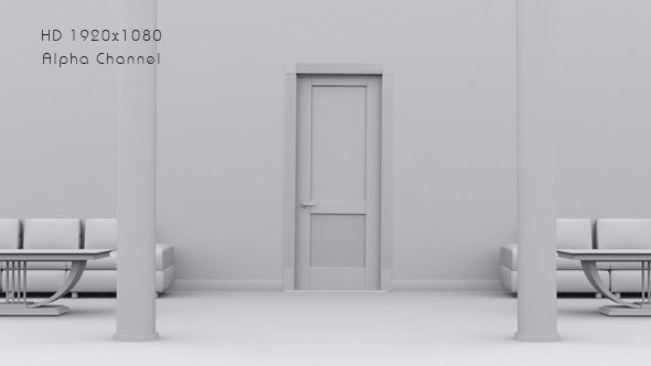 3D Door Open