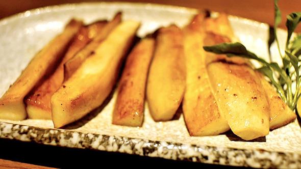 Japanese Grilled Matsutake Mushroom