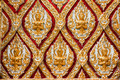 Beautiful ancient thai style pattern in Thai temple - PhotoDune Item for Sale