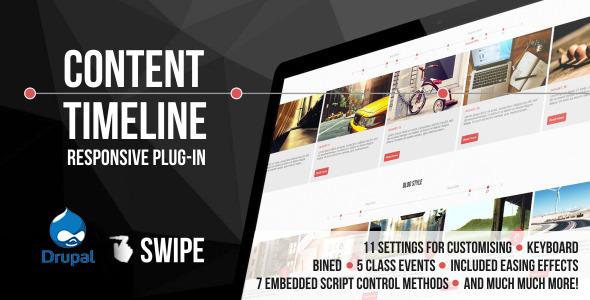 CodeCanyon Content Timeline Responsive Drupal Plugin 9871166
