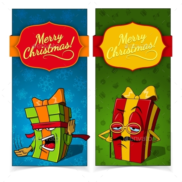 GraphicRiver Christmas Banners 9871168