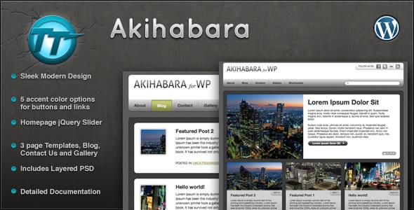 Akihabara Wordpress Theme