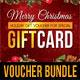 3 in 1 Christmas Holidays Gift Voucher Bundle - GraphicRiver Item for Sale