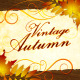Vintage Autumn - VideoHive Item for Sale