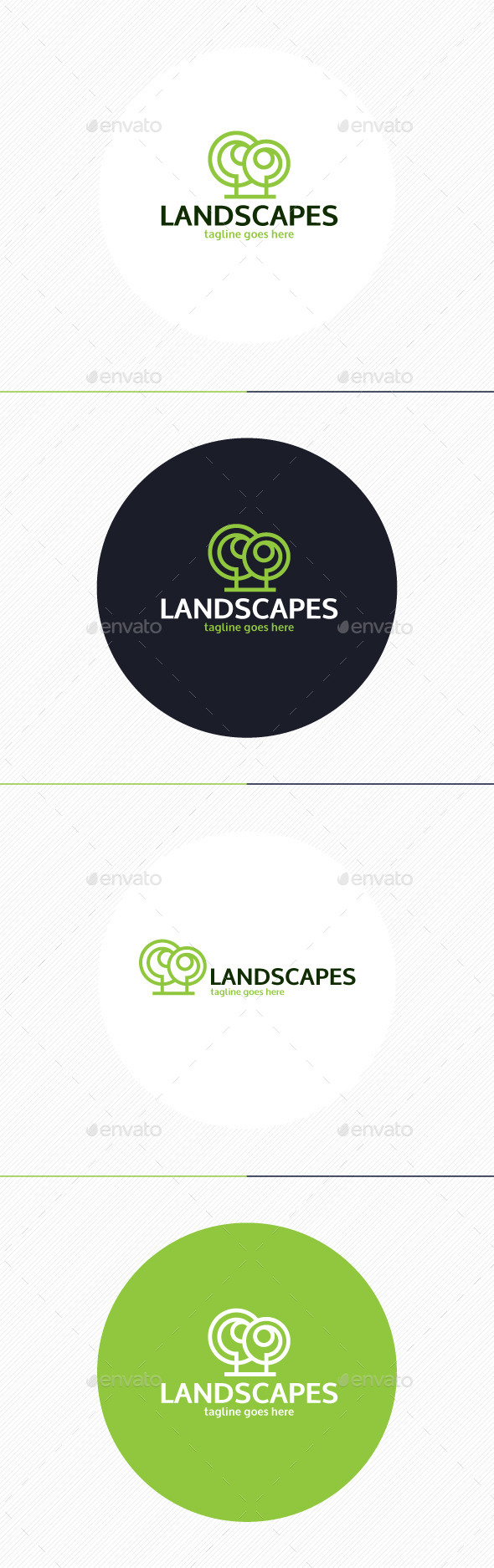 GraphicRiver Landscapes Logo 9871848