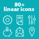 The Essential, 80+ Outlines Icon Set - GraphicRiver Item for Sale