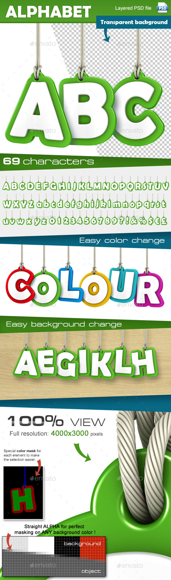 GraphicRiver Alphabet Set 9872098