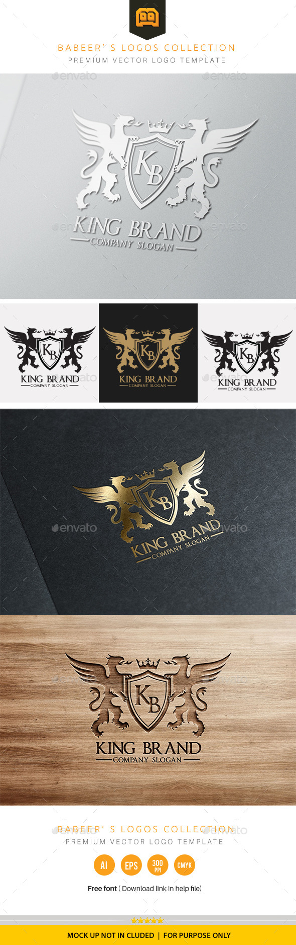 GraphicRiver King Brand 9872359