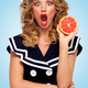 Grapefruit peeling. - PhotoDune Item for Sale