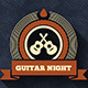 Very Vintage Guitar Night Flyer and Cover - GraphicRiver Item for Sale