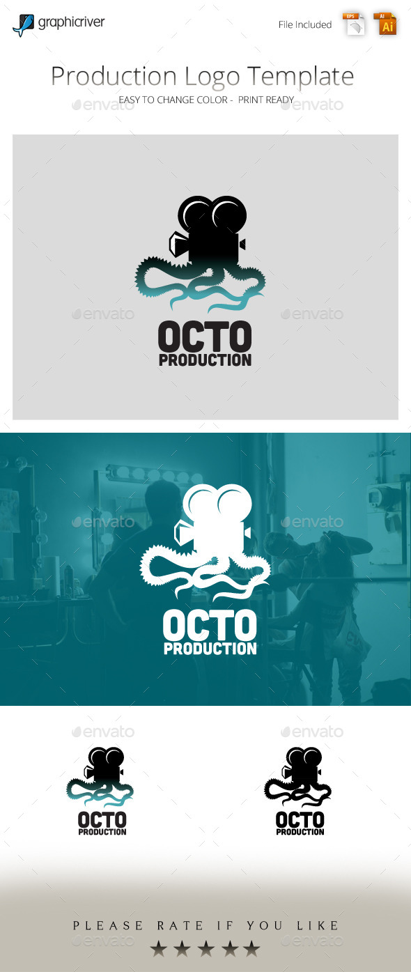 GraphicRiver Octo Production Studios Logo 9861958