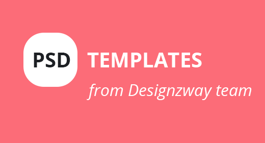 PSD Templates from Designzway
