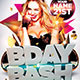 BDAY BASH 3D 2015 - GraphicRiver Item for Sale