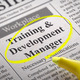 Training and Development Manager Vacancy in Newspaper. - PhotoDune Item for Sale