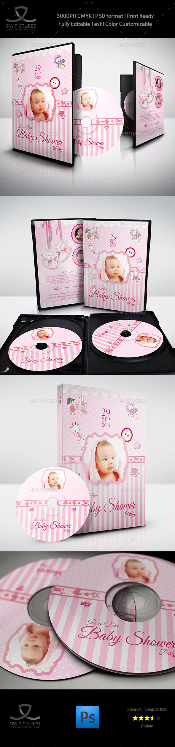 GraphicRiver Baby Shower Party DVD Template Vol.2 9874883