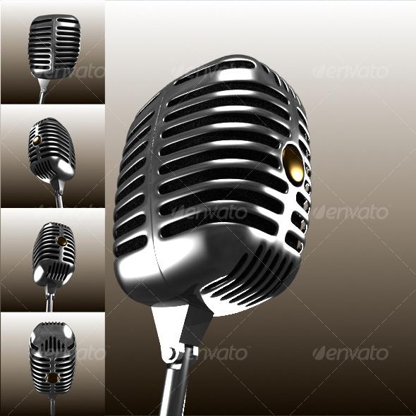 3DOcean Microphone 125442