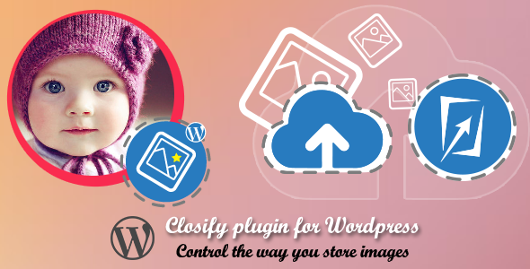 (2 in 1) Plugin : Powerful image uploader + Intelligent image optimizer Upload > Review > Approve > Have a richful media library Closify is a wordpress