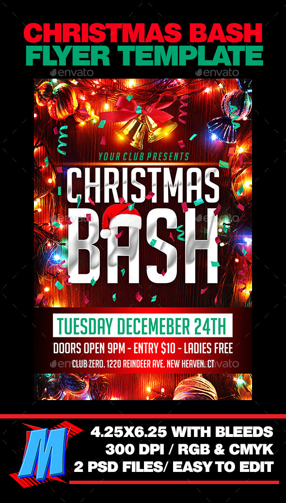 Chrismas Bash Flyer Template