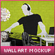 Wall Art Mock-Up vol.3 - GraphicRiver Item for Sale