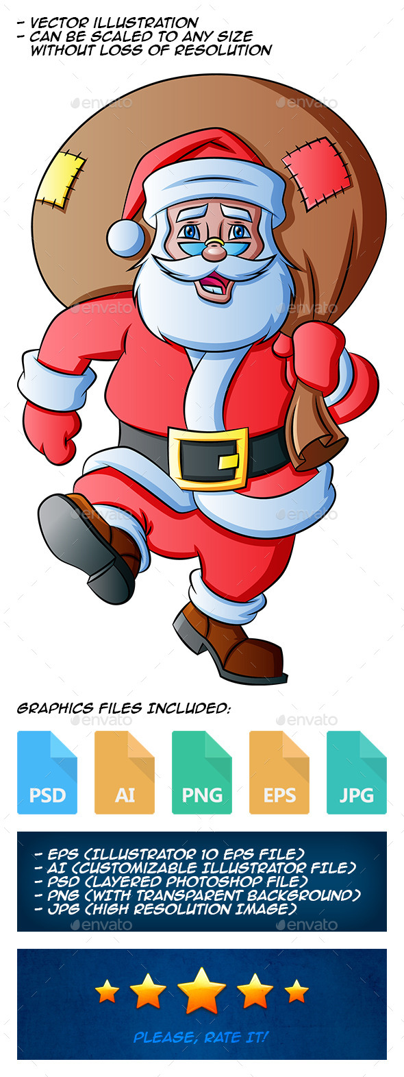 GraphicRiver Santa Claus 9875834