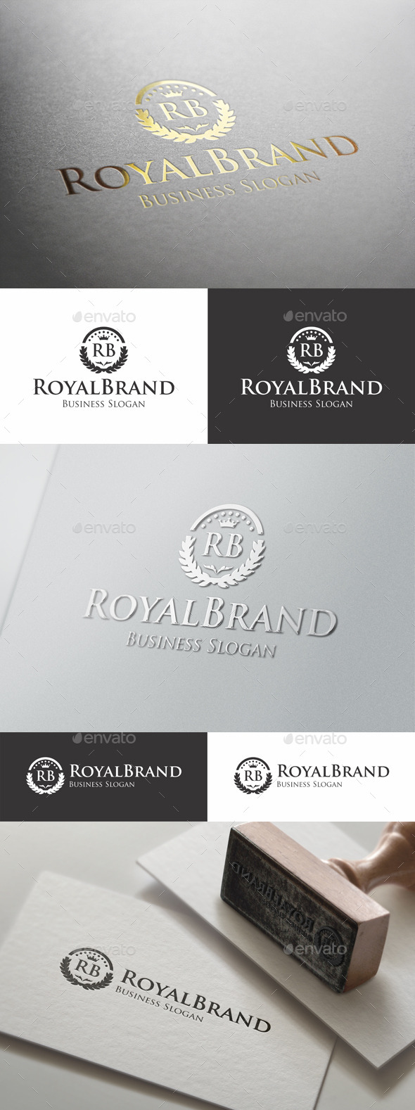 GraphicRiver Royal Brand Fashion Boutique Logo 9875883