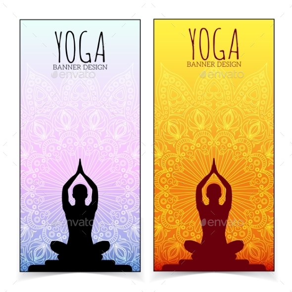 GraphicRiver Yoga Banner Collection 9876575