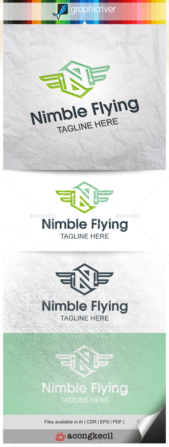 GraphicRiver Nimble Flying 9876713