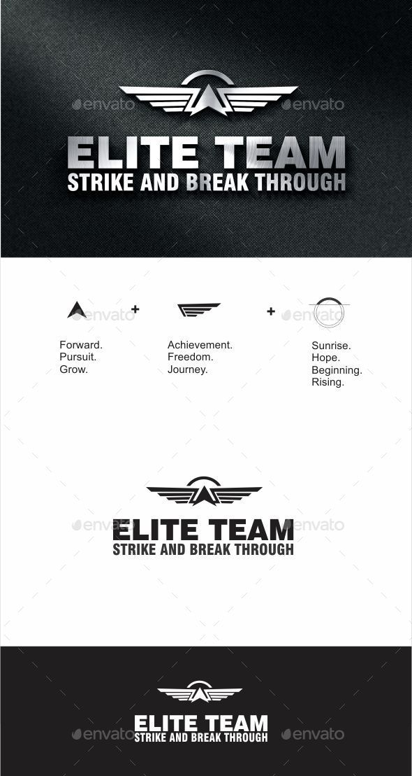GraphicRiver Elite Force Logo 9876756