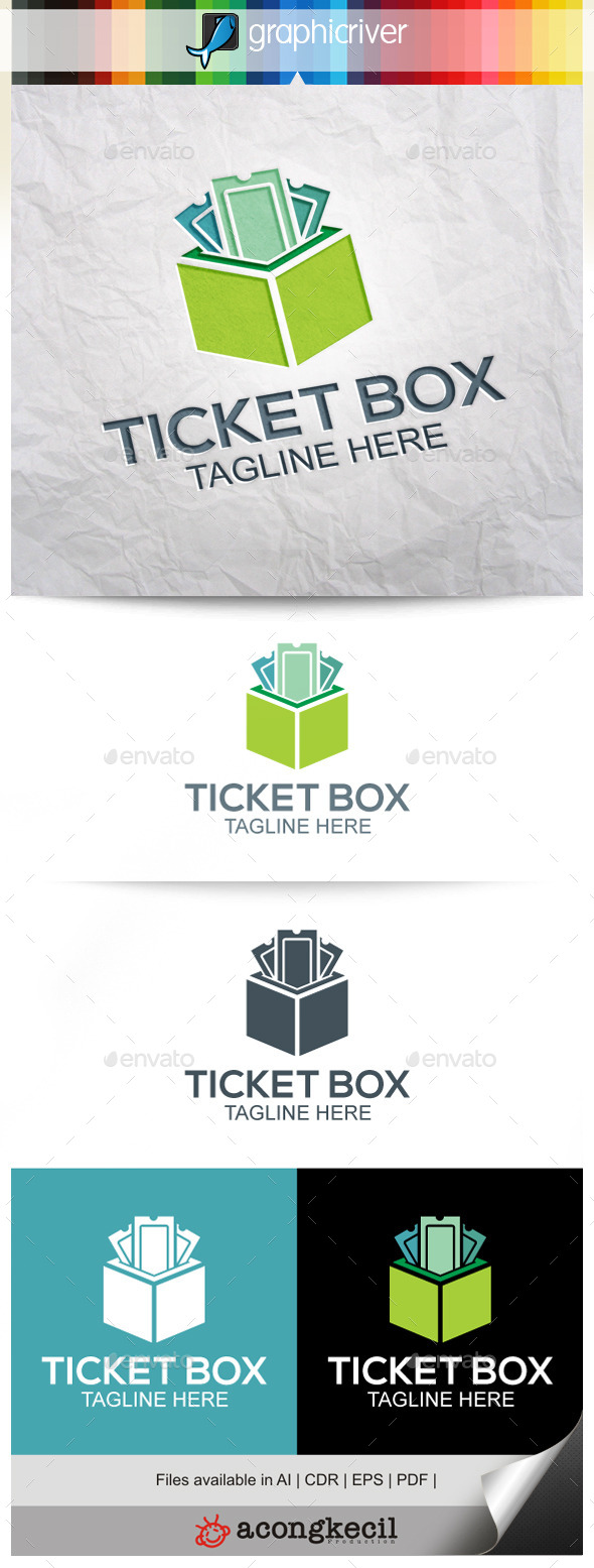 GraphicRiver Ticket Box 9877134