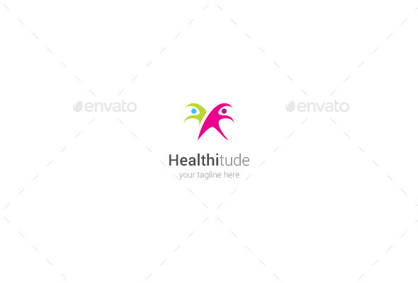GraphicRiver Healthitude Logo 9877226