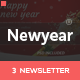 Newyear - 3 Email Templates + Online Editor - ThemeForest Item for Sale