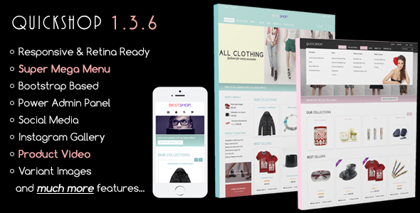 Quickshop - Responsive Shopify Theme - Fashion Shopify