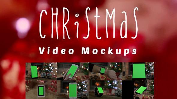 Christmas Video Mockups
