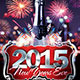 The 2015 NYE Flyer Template - GraphicRiver Item for Sale