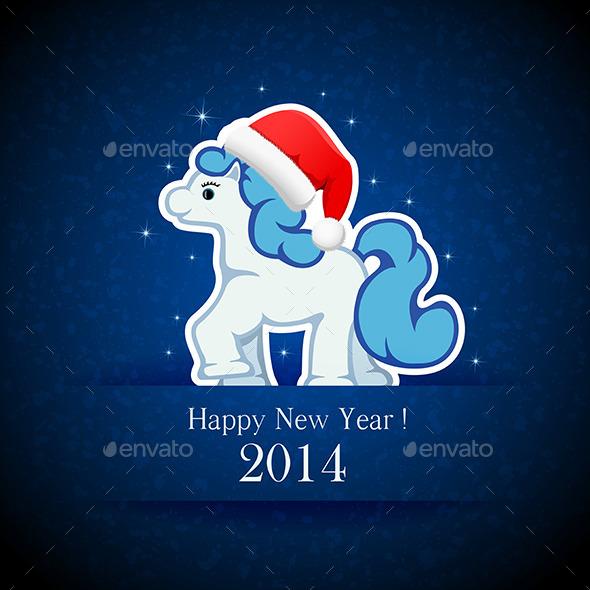 GraphicRiver Little Horse 9878475