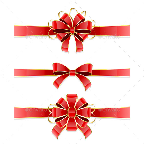 GraphicRiver Set of Bows 9878541
