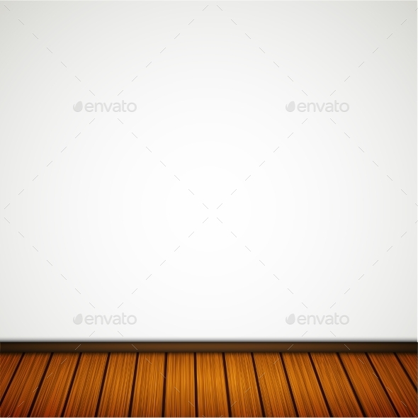 GraphicRiver Wall with Wooden Floor 9878591