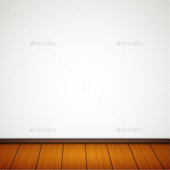 GraphicRiver Wall with Wooden Floor 9878601