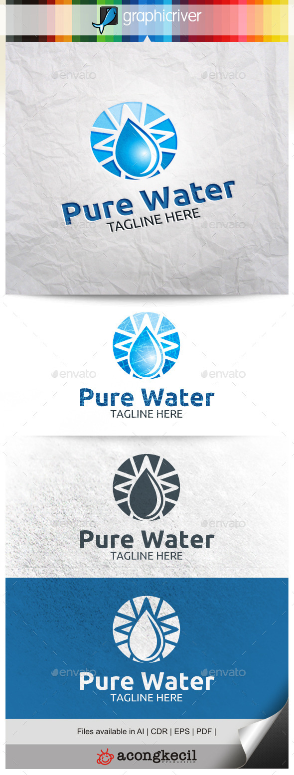 GraphicRiver Pure Water V.2 9878618