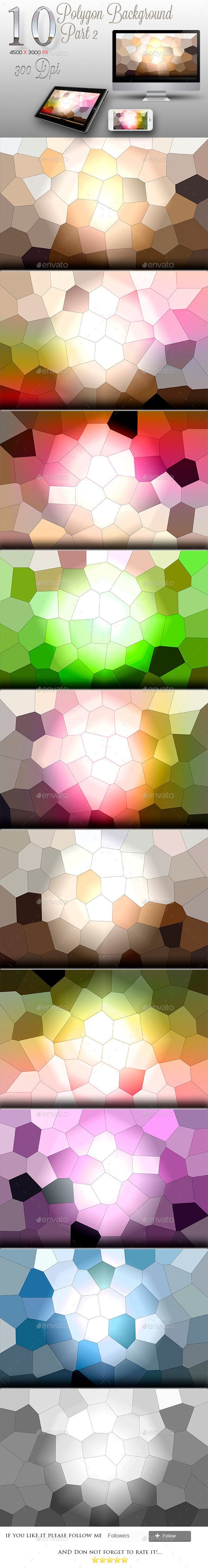 GraphicRiver 10 Backgrounds Polygon Texture Part 2 9878716