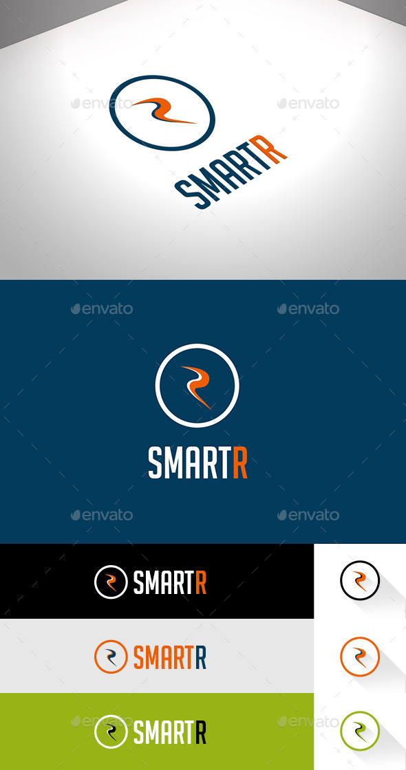 SmartR Business Flat Logo