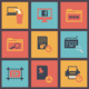Vector Flat Web Icons Set 5 - GraphicRiver Item for Sale