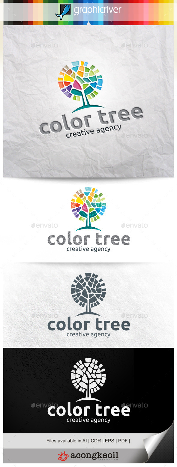 GraphicRiver Color Tree V.2 9879724