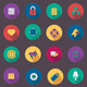 Vector Flat Web Icons Set 10 - GraphicRiver Item for Sale