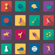 Vector Flat Web Icons Set 11 - GraphicRiver Item for Sale