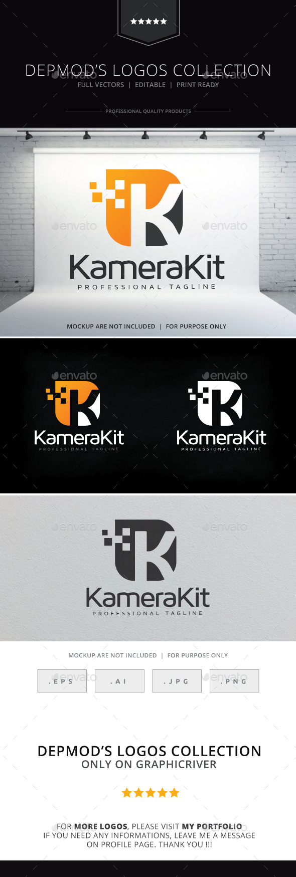 GraphicRiver Kamera Kit Logo 9879773